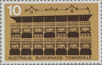 Buchanans Hotel stamp issued 1973